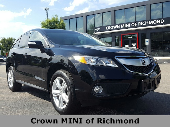 2015 Acura Rdx For Sale >> Used 2015 Acura Rdx For Sale At Crown Mini Of Richmond Vin