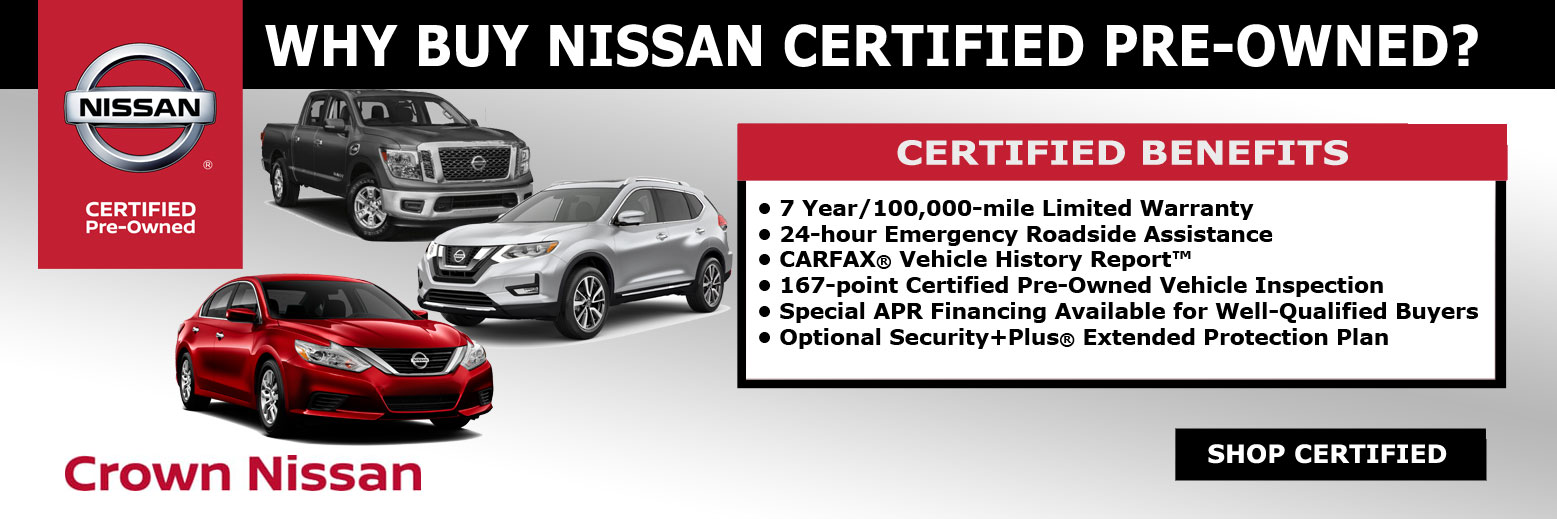 Crown Nissan | New Nissan dealership in Redding, CA 96002