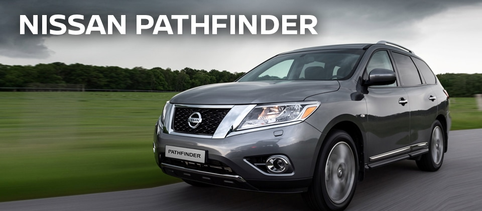 New 2016 Nissan Pathfinder Offer at Crown Nissan