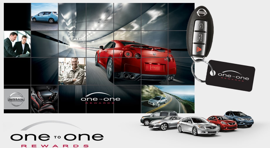 The Nissan One To One Rewards Program Is A Loyalty Program Designed For YOU  To Earn Valuable Points At Your Nissan Dealership.