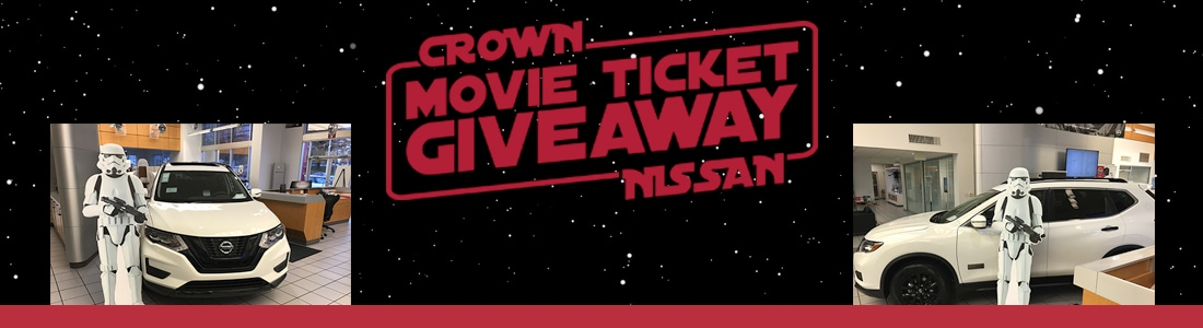 Crown Nissan Greensboro Star Wars Rogue One Movie Ticket Giveaway