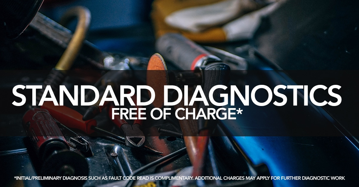 Complimentary Initial Vehicle Diagnosis Now Free Of Charge At Crown Nissan  Of Greenville