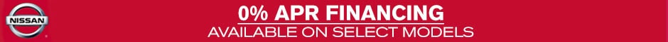 New Nissan Financing Special APR in Greenville, South Carolina