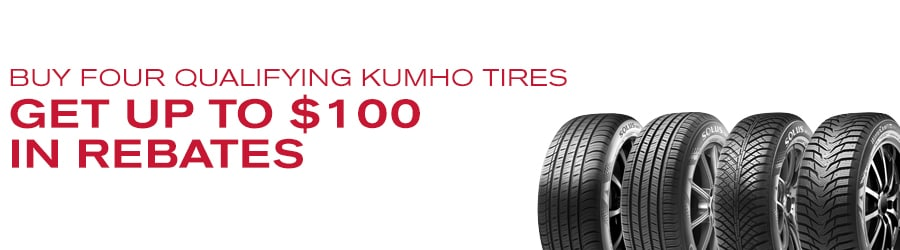 Greenville SC Nissan Kumho Tire Special