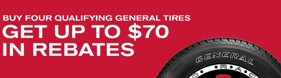 Greenville SC Nissan General Tire Special