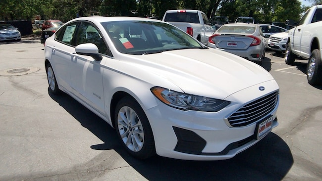 New 2019 Ford Fusion SE Hybrid in Redding, CA