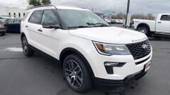 New 2019 Ford Explorer Sport 4WD 1FM5K8GT3KGB09766 in Redding, CA