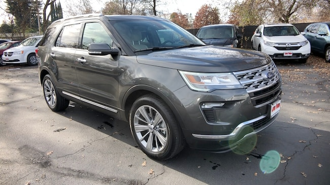 New 2018 Ford Explorer Limited FWD in Redding, CA