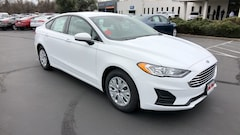 New 2019 Ford Fusion S 3FA6P0G78KR178871 in Redding, CA