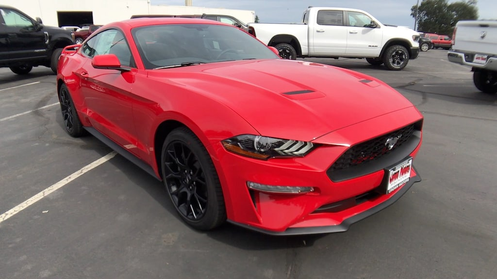 New 2019 Ford Mustang Ecoboost For Sale Lease Redding Ca