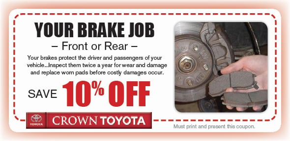 Brake Pad Service Coupon, Decatur, IL. If no image displays, this offer has ended.