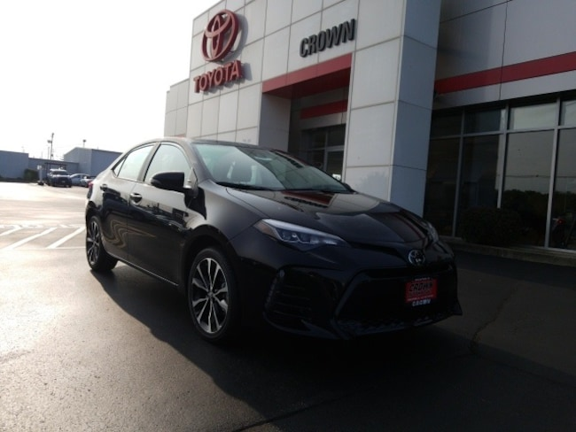 New 2019 Toyota Corolla Xse For Sale In Decatur Il Kc156740