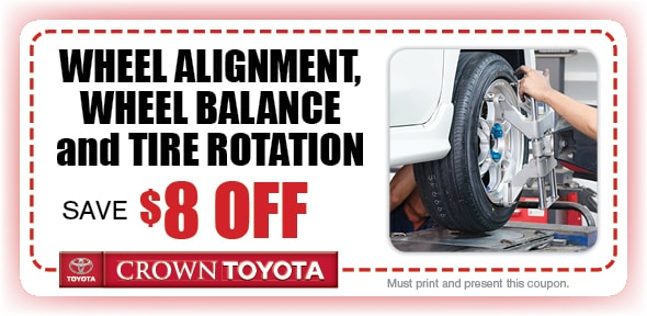 Alignment Service Coupon, Decatur, IL. If no image displays, this offer has ended.