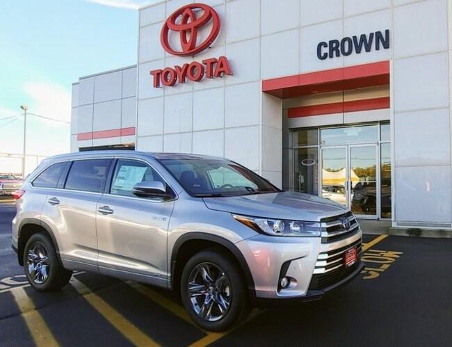 2018 Toyota Highlander Hybrid Limited Platinum V6 SUV