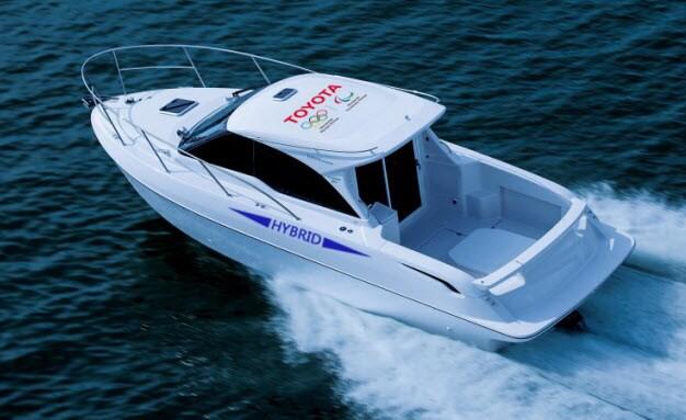 Toyota Parallel Hybrid Boat