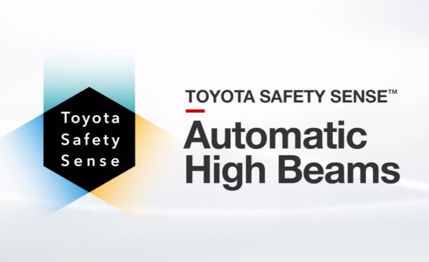 Toyota Safety Sense - Automatic High Beams