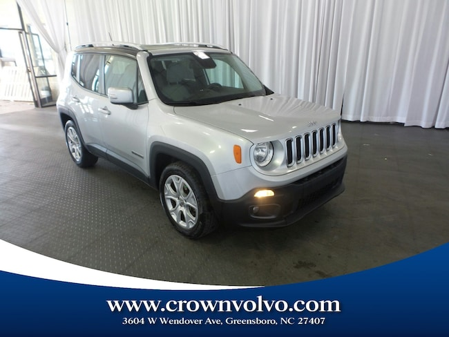 Used 2015 Jeep Renegade Limited FWD SUV for sale in Greensboro, NC