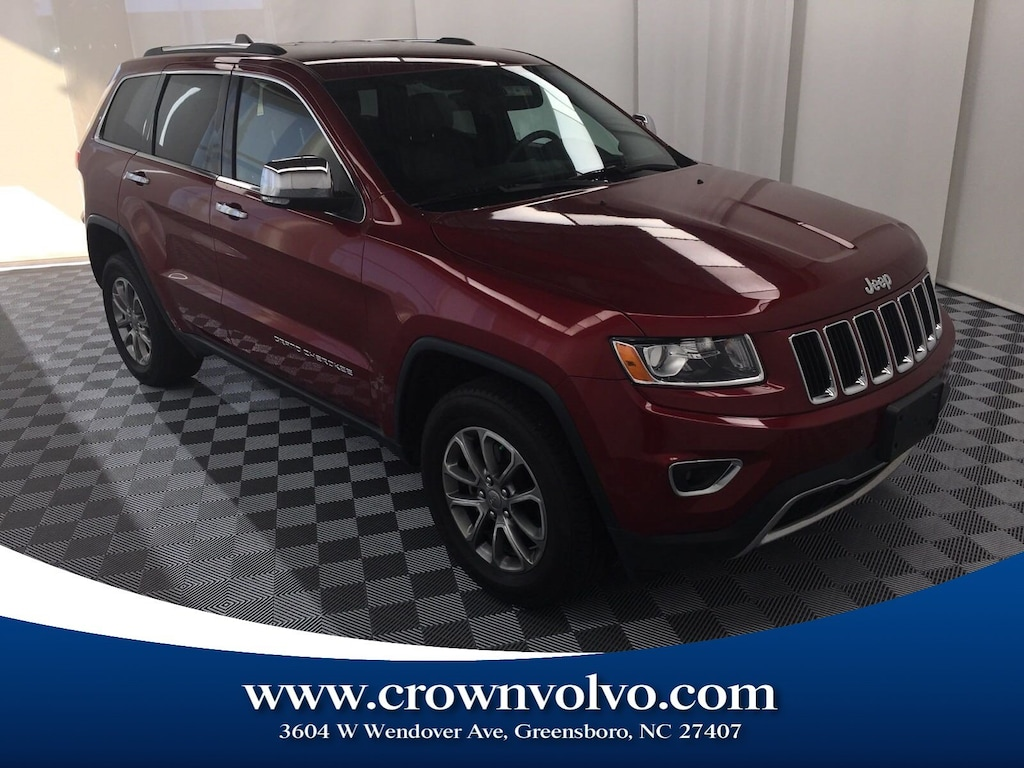 Used Tires Greensboro Nc >> Used 2014 Jeep Grand Cherokee Limited 4x4 For Sale Greensboro
