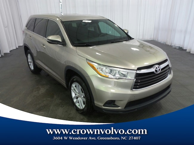 Used 2014 Toyota Highlander LE SUV for sale in Greensboro, NC