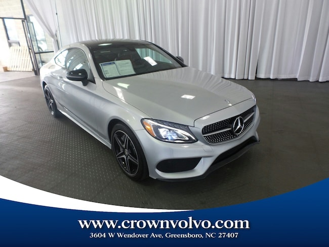 Used 2017 Mercedes-Benz C-Class C 300 4MATIC Coupe for sale in Greensboro, NC
