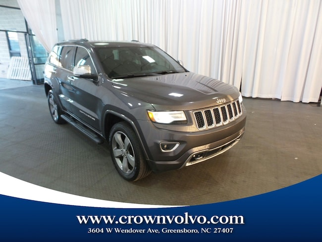 Used 2014 Jeep Grand Cherokee Overland 4x4 SUV for sale in Greensboro, NC