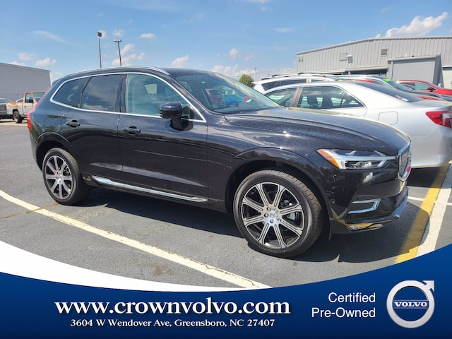 Pre-Owned 2021 Volvo XC60 T5 Inscription SUV YV4102RL1M1737444 for Sale in Greensboro