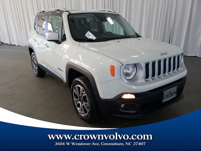 Used 2015 Jeep Renegade Limited 4x4 SUV for sale in Greensboro, NC