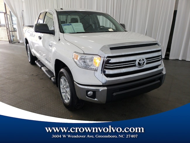 Used 2016 Toyota Tundra SR5 5.7L V8 w/FFV Truck Double Cab for sale in Greensboro, NC