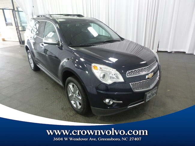 Used 2015 Chevrolet Equinox LTZ SUV for sale in Greensboro, NC
