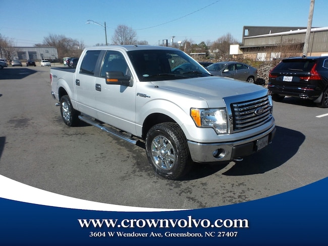Used 2012 Ford F-150 Truck SuperCrew Cab for sale in Greensboro, NC