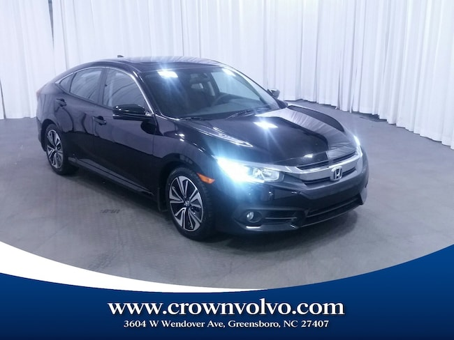 Used 2016 Honda Civic EX-T Sedan for sale in Greensboro, NC