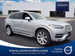 Pre-Owned 2018 Volvo XC90 T6 AWD Inscription (7 Passenger) SUV YV4A22PLXJ1331414 for Sale in Greensboro