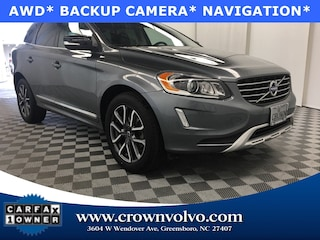 Pre-Owned 2017 Volvo XC60 T6 AWD Dynamic SUV YV449MRR5H2088959 for Sale in Greensboro