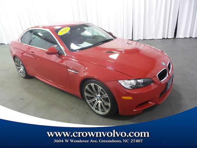 Used 2010 BMW M3 Convertible for sale in Greensboro, NC