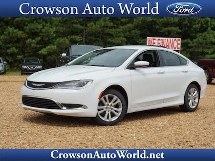 2017 Chrysler 200 Limited Platinum Car