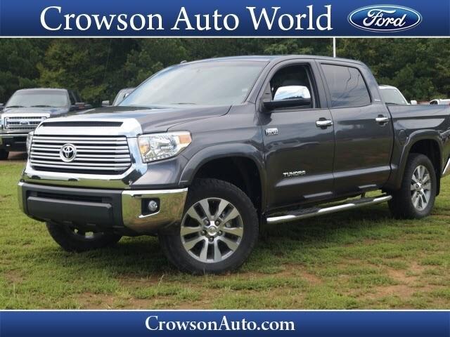 2015 Toyota Tundra Limited 5.7L V8 w/FFV Truck CrewMax