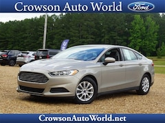 2016 Ford Fusion S Car