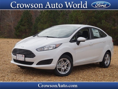 New 2019 Ford Fiesta For Sale at Crowson Auto World   VIN