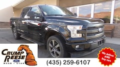 Used 2017 Ford F-150 Lariat Truck for sale in Moab, UT