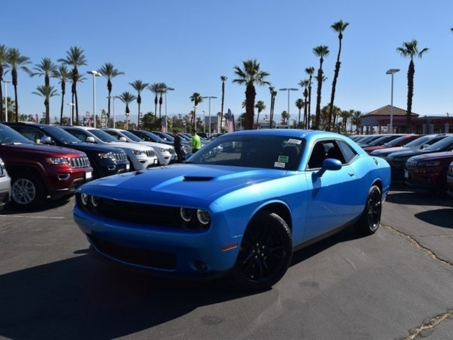 New 2018 Dodge Challenger SXT Coupe Cathedral City, CA