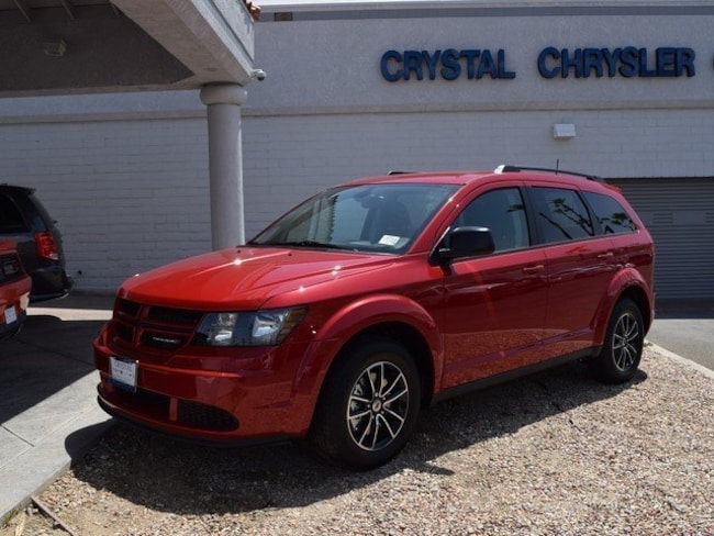 New 2018 Dodge Journey SE Sport Utility Cathedral City, CA
