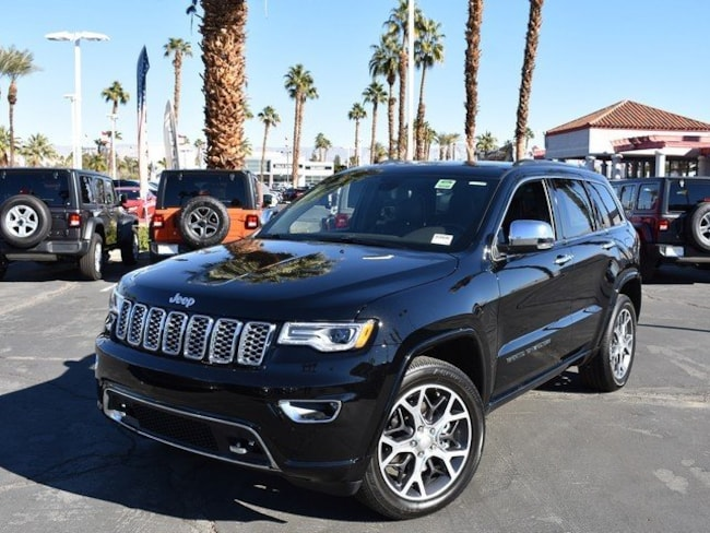 New 2019 Jeep Grand Cherokee OVERLAND 4X4 Sport Utility Cathedral City, CA