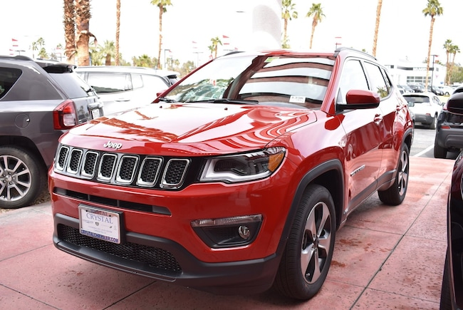 New 2019 Jeep Compass LATITUDE FWD Sport Utility Cathedral City, CA