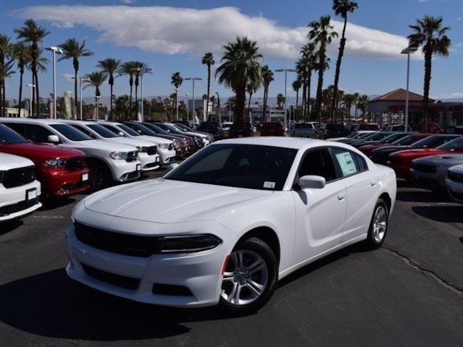 New 2018 Dodge Charger SXT RWD Sedan Cathedral City, CA