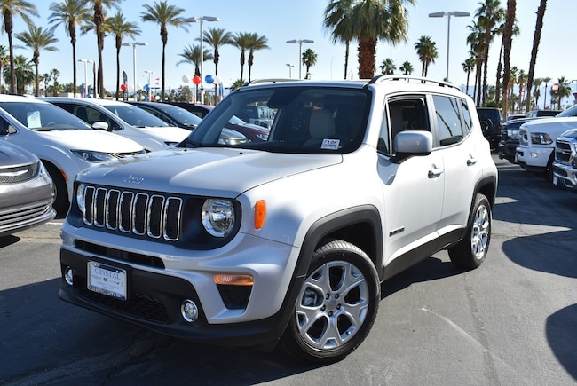 New 2019 Jeep Renegade LATITUDE FWD Sport Utility Cathedral City, CA