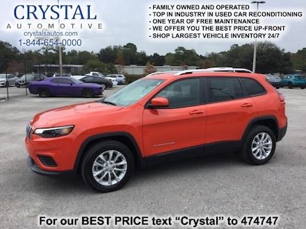 2021 Jeep Cherokee LATITUDE FWD Sport Utility for sale in Homosassa, FL