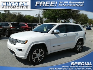 New Chrysler Dodge Jeep Ram models 2019 Jeep Grand Cherokee OVERLAND 4X2 Sport Utility for sale in Homosassa, FL