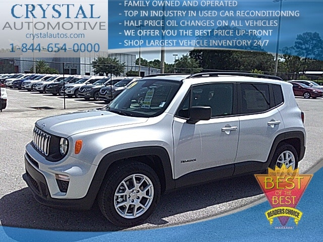 New 2019 Jeep Renegade For Sale at Crystal Chrysler Dodge