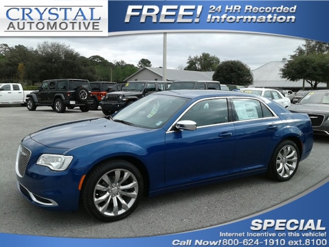 New 2019 Chrysler 300 TOURING Sedan for sale in Homosassa, FL at Crystal Chrysler Dodge Jeep