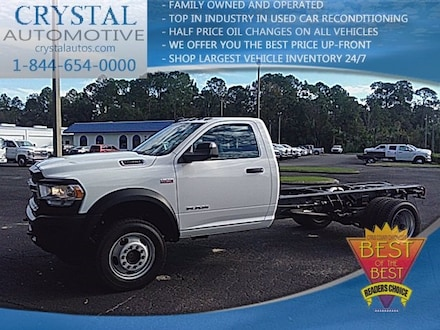 2019 Ram 4500 Chassis Cab 4500 TRADESMAN CHASSIS REGULAR CAB 4X4 168.5 WB Regular Cab for sale in Homosassa, FL